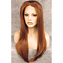 cheap Synthetic Lace Wigs-Synthetic Wig Straight Brown Synthetic Hair Brown Wig Lace Front Auburn
