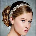 baratos Brincos-headbands de cristal headpiece festa de noiva elegante estilo feminino