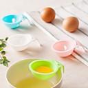 hesapli Yumurta Malzemeleri-Mutfak aletleri Plastik Yaratıcı Mutfak Gadget huni Yumurta için 1pc