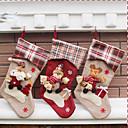 お買い得  クリスマスデコレーション-ホリデーデコレーション 動物 / Snowmen / Santa ストッキング パーティー / アイデアジュェリー / クリスマス 1個