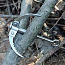 billige Camping Værktøj, Karabinkroge & Reb-Save Spænde Bærbar Vandring Camping Udendørs Rustfrit Stål cm 1 Stk.