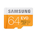 cheap Fitness Gear & Accessories-SAMSUNG 64GB Micro SD Card TF Card memory card UHS-I U1 Class10 EVO for Smartphone Tablet Camera