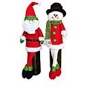 abordables Ratones-Decoraciones de vacaciones Muñecos de Nieve / Santa Adornos Fiesta 1 / 2 1pc