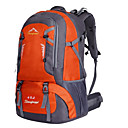 cheap Backpacks & Bags -40 L Hiking Backpack - Waterproof, Breathable, Shockproof Outdoor Camping / Hiking, Climbing, Leisure Sports Nylon Green, Orange, Red