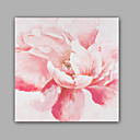 cheap Floral/Botanical Paintings-Oil Painting Hand Painted - Floral / Botanical Classic Modern Canvas