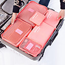 cheap Storage & Organization-Textile Plastic Oval Travel Home Organization, 1pc Storage Bags