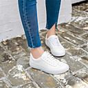cheap Women's Boots-Women's Shoes Pigskin Spring Comfort Sneakers White