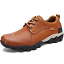 cheap Men's Oxfords-Men's Leather Shoes Nappa Leather Spring / Summer / Fall Comfort Oxfords Light Brown