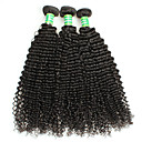 olcso Természetes színű póthajak-Kémiai anyagoktól mentes/nyers Remy emberi haj tincs Jó minőség 25 1 év 0.3 Napi Klasszikus Göndör Kinky Göndör