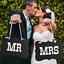 Χαμηλού Κόστους Κορδέλες Γάμου-Αρραβώνας / Γαμήλιο Πάρτι Hard Card Paper Διακόσμηση Γάμου Κλασσικό Θέμα Καλοκαίρι / Φθινόπωρο / Χειμώνας