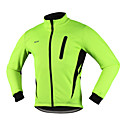 cheap Cycling Jackets-Arsuxeo Men's Cycling Jacket Bike Winter Jacket / Top Thermal / Warm, Windproof, Anatomic Design Spandex, Fleece, Terylene Red / Blue /