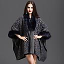 cheap Quilts & Coverlets-Women's Faux Fur Cotton Coat - Leopard