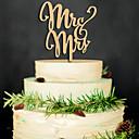 baratos Decorações para Casamento-Festa de Casamento Madeira Mistura de Material Decorações do casamento Tema Clássico Inverno Primavera Verão Outono Todas as Estações