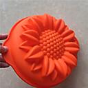 halpa Leivontatarvikkeet-Bakeware-työkalut Silikoni Tarttumaton / 3D / DIY Leipä / Kakku / Cookie paistopinnan