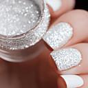 billige Nail Glitter-1 pcs Glitter Negle kunst Manicure Pedicure Daglig glitter / Mode