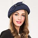 baratos Acessórios de Cabelo-Lã / Liga Fascinadores / Chapéus com 1 Casamento / Ocasião Especial / Casual Capacete