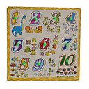 cheap Decorative Objects-Jigsaw Puzzle Math Toy Educational Toy Novelty Wooden 1pcs Kid's Boys' Gift