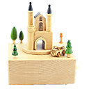 cheap Music Boxes-Toy Car Music Box Castle Classic & Timeless Furnishing Articles Kid's Adults Kids Gift Girls'