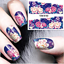 cheap Birthday Home Decorations-1 pcs Water Transfer Sticker nail art Manicure Pedicure Fashion Daily
