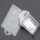 رخيصةأون أدوات أخرى-1 pcs ختم مجموعة قالب فن الأظافر تجميل الأظافر والقدمين موضة يوميا / بلاستيك / مطاط