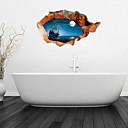 olcso Fürdőszobai dekoráció-Matricák & Ragasztószalagok Butik PVC 1db - Fürdőszoba Egyéb fürdőszobai kiegészítők