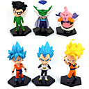 cheap Wall Stickers-Anime Action Figures Inspired by Dragon Ball Goku Anime Cosplay Accessories Figure PVC(PolyVinyl Chloride) Halloween Costumes