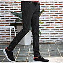 cheap Wedding Shoes-Men's Chinoiserie Cotton Slim Skinny / Chinos Pants - Striped / Weekend