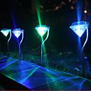 billige Pathway Lights-1pc Soldrevet Bærbar Dekorasjon LED-spotpærer