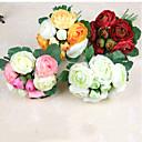 olcso Művirág-Művirágok 1 Ág Esküvői virágok Camellia Asztali virág