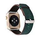 preiswerte Religiöser Schmuck-Uhrenarmband für Apple Watch Series 3 / 2 / 1 Apple Klassische Schnalle Echtes Leder Handschlaufe
