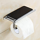 cheap Bathroom Shelves-Toilet Paper Holder Contemporary Stainless Steel 1 pc - Hotel bath