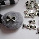 billige Modeure-5 pcs Negle Smykker Rhinsten Negle kunst Manicure Pedicure Daglig glitter / Metallic / Mode / Negle smykker