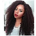 cheap Natural Color Hair Weaves-Peruvian Hair Afro Curly Natural Color Hair Weaves 3 Bundles Human Hair Weaves Natural Black Human Hair Extensions