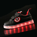 cheap Boys' Shoes-Boys' Shoes PU(Polyurethane) Spring & Summer Comfort / Light Up Shoes Sneakers LED for White / Black