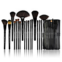 preiswerte Make-up-Pinsel-Sets-24 Stück Makeup Bürsten Professional Make - Up Pinselset Pony Bürste / Pferde / Kunstfaser Pinsel Antibakteriell