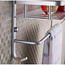 abordables Grifos de Lavabo-Estantería de Baño Modern CLORURO DE POLIVINILO 1 pieza - Baño del hotel Colocado en la Pared