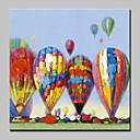 levne Abstraktní malby-Hang-malované olejomalba Ručně malované - Komiks Moderní evropský styl Obsahovat vnitřní rám