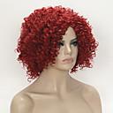 billige Syntetiske parykker-Syntetiske parykker Krøllet Syntetisk hår Parykk Dame Medium Lengde Lokkløs StrongBeauty