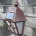 cheap LED Flood Lights-Retro LED Solar Lights Outdoor Garden Solar Led Wall Lamp Waterproof Pathway Solar Led Street Lights Fence Roof Terrace Lighting