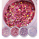 cheap Baby Boys' One-Piece-shiny nail glitter powder red pink purple nail sequins manicure nail art
