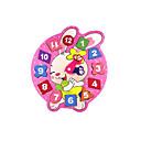 billige Baby- og småbarnsleke-Liksomspill / Wooden Clock Toy / Pedagogisk leke 1pcs Klokke Utdanning / Originale Tegneserie Jente Gave