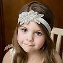 זול ילדים אביזרים לשיער-אביזרי שיער כל העונות רצועות ראש כותנה תחרה בנות בנים - לבן ורוד מסמיק בז' אפור