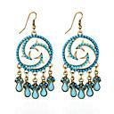 preiswerte Modische Ohrringe-Damen Synthetischer Opal Ohrstecker / Tropfen-Ohrringe / Ohrring - Opal Blau / Regenbogen Für Alltag