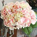 abordables Flores Artificiales-Flores Artificiales 1 Rama Estilo europeo Hortensias Flor de Mesa