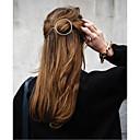 رخيصةأون اكسسوارات شعر-دبابيس إكسسوارات الشعر سبيكة معدنية سبيكة اكسسوارات الشعر المستعار للمرأة 1 جهاز كمبيوتر شخصى سم