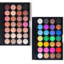 preiswerte Lidschatten-Makeup 28 Farben Lidschatten / Puder Kosmetik Verbreitete / Profi Level Lang anhaltend Alltag Make-up / Halloween Make-up / Party Make-up Bilden Kosmetikum