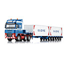 cheap Toy Trucks & Construction Vehicles-KDW Truck Container Truck Cargo Truck Toy Truck Construction Vehicle Toy Car 1:50 Retractable Metalic Plastic ABS 1 pcs Kid's Boys' Girls' Toy Gift