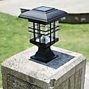 voordelige Garden Lights-Zonnepaneel lamp postkolom koplampen omheining lampen wandlamp koplamp buitentuin verlichting