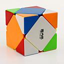 baratos Spinners de mão-Rubik's Cube QI YI Skewb Skewb Cube Cubo Macio de Velocidade Cubos mágicos Cubo Mágico Nível Profissional Velocidade Dom Clássico Para