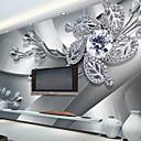 olcso Smartphone kamera objektívek-Art Deco 3D lakberendezési Kortárs Falburkolat, Vászon Anyag ragasztószükséglet Falfestmény, szoba Falburkoló